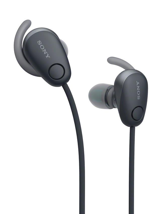 Tai nghe vòng cổ WI-SP600N có khả năng kháng nước nhẹ IPX4 và chống ồn