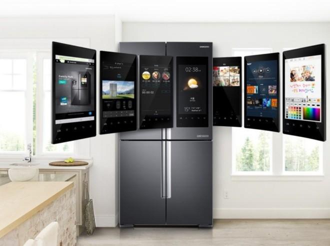 [CES 2018] Samsung giới thiệu mẫu tủ lạnh thông minh tích hợp loa AKG và trợ lý ảo Bixby - Ảnh 4.