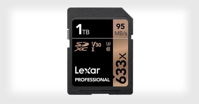 Lexar công bố thẻ nhớ SDXC có dung lượng 1TB đầu tiên trên Thế giới - Ảnh 1.