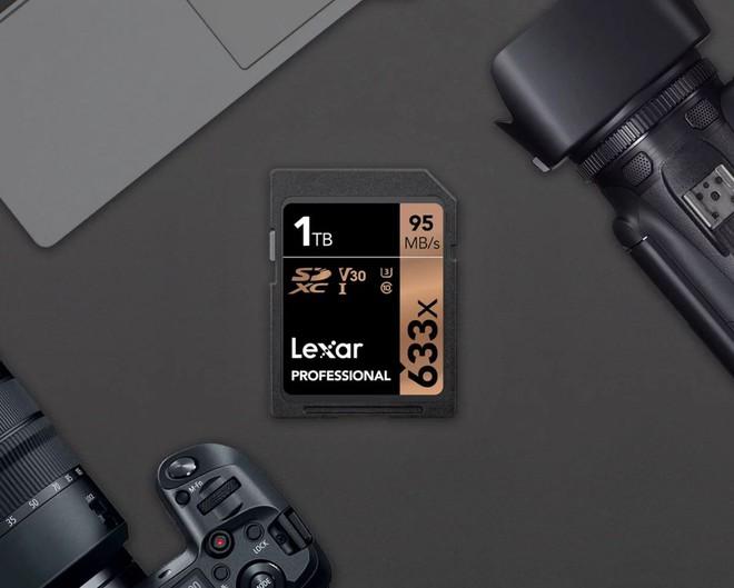 Lexar công bố thẻ nhớ SDXC có dung lượng 1TB đầu tiên trên Thế giới - Ảnh 2.