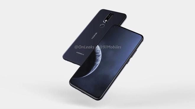 Nokia 8.1 Plus lộ thiết kế hoàn chỉnh với màn hình đục lỗ, camera kép phía sau - Ảnh 4.