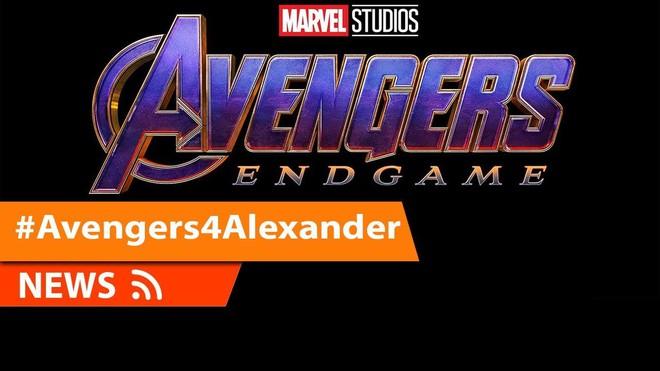 #Avengers4Alexander: Câu chuyện cảm động về bệnh nhân ung thư được xem Avengers: Endgame sớm nhất thế giới - Ảnh 1.