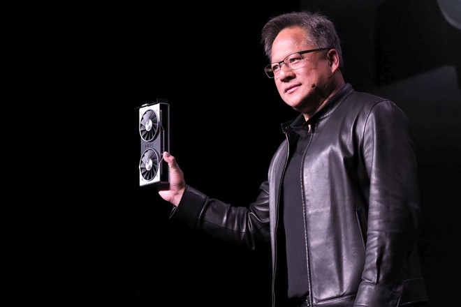 CEO Nvidia dìm hàng card đồ họa Radeon VII 7nm đầu tiên của AMD, cho rằng hiệu năng thực tế chỉ bằng một góc RTX 2080 - Ảnh 1.