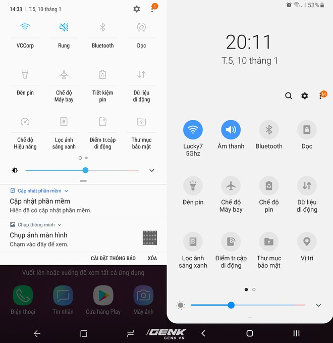 So sánh giao diện Samsung Experience (Android 8) và One UI (Android 9): Lột xác hoàn toàn! - Ảnh 5.