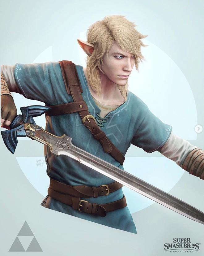 Những nhân vật dễ thương trong game của Nintendo bỗng hoá quái vật, trai đẹp,... dưới bàn tay nhà thiết kế God of War - Ảnh 1.