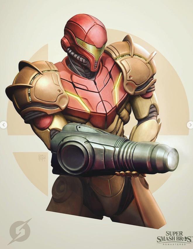 Những nhân vật dễ thương trong game của Nintendo bỗng hoá quái vật, trai đẹp,... dưới bàn tay nhà thiết kế God of War - Ảnh 2.