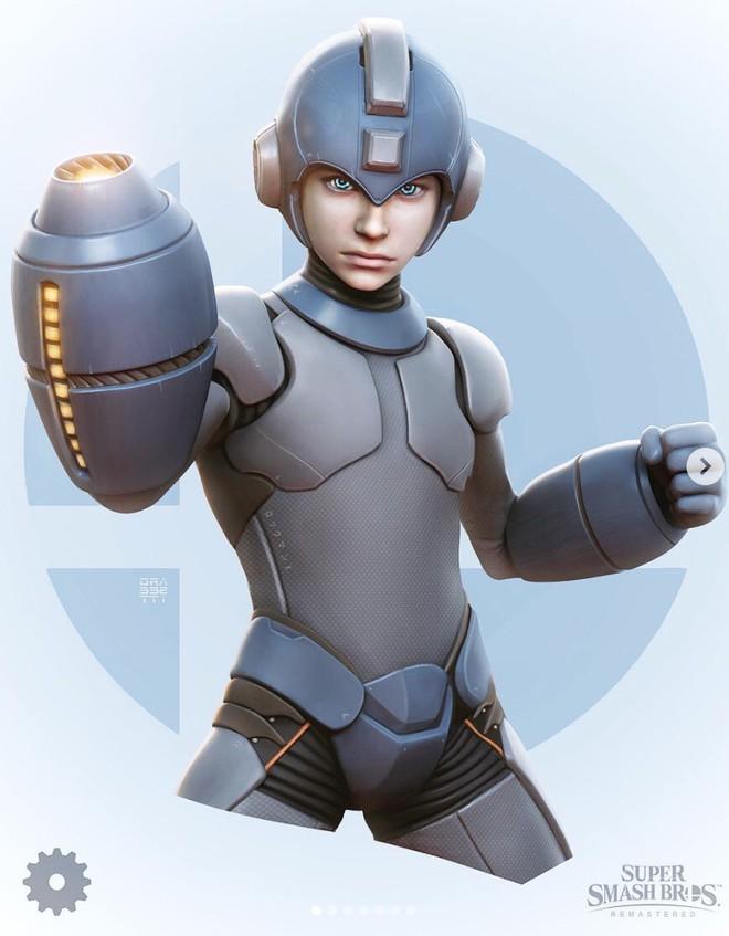 Những nhân vật dễ thương trong game của Nintendo bỗng hoá quái vật, trai đẹp,... dưới bàn tay nhà thiết kế God of War - Ảnh 5.