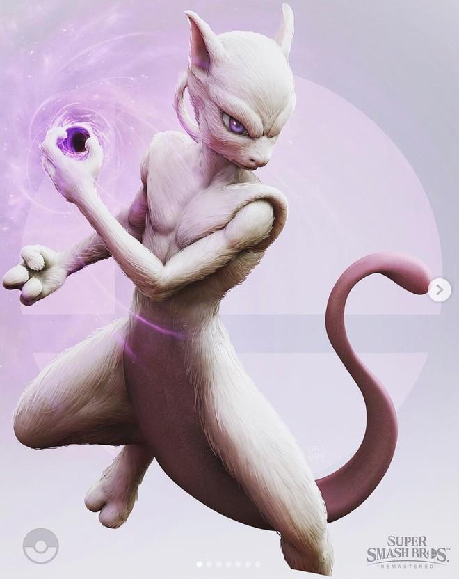 Những nhân vật dễ thương trong game của Nintendo bỗng hoá quái vật, trai đẹp,... dưới bàn tay nhà thiết kế God of War - Ảnh 6.