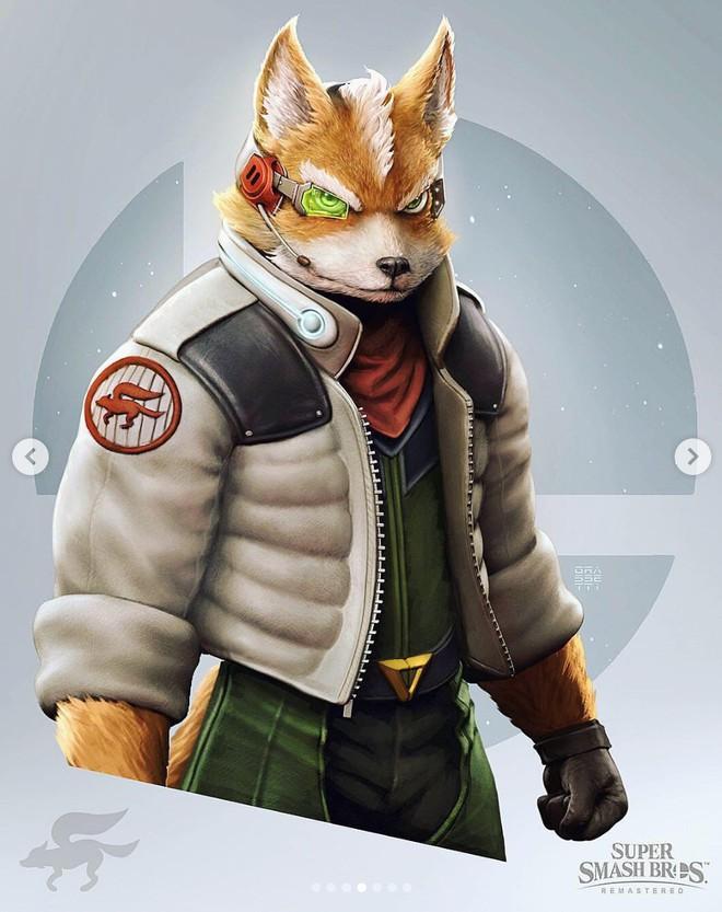 Những nhân vật dễ thương trong game của Nintendo bỗng hoá quái vật, trai đẹp,... dưới bàn tay nhà thiết kế God of War - Ảnh 3.