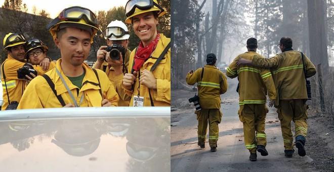 Tình bạn thử lửa: Những nhiếp ảnh gia nơi tiền tuyến địa ngục lửa - Ảnh 1.