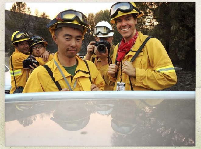 Tình bạn thử lửa: Những nhiếp ảnh gia nơi tiền tuyến địa ngục lửa - Ảnh 3.