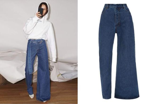 Chiếc quần jeans bên loe bên xìu giá 8 triệu 7 hứa hẹn phá đảo làng thời trang năm 2019 - Ảnh 3.