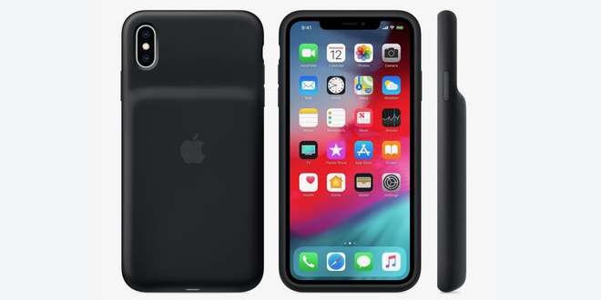 Apple trình làng case lưng gù vừa bảo vệ vừa tăng thời lượng pin cho iPhone XR, XS và XS Max - Ảnh 1.