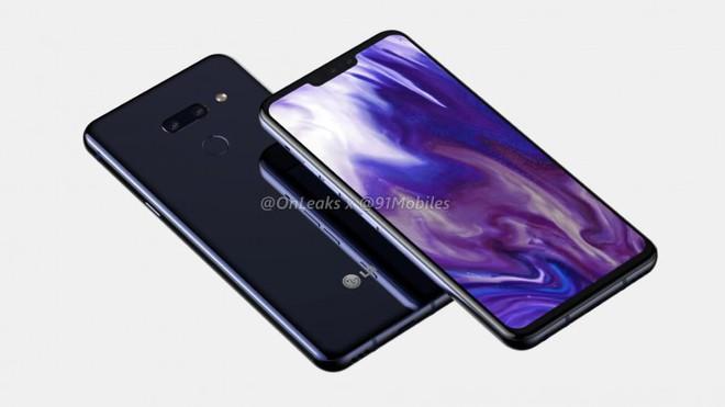 LG G8 ThinQ lộ thiết kế, vẫn màn hình tai thỏ, camera kép và cảm biến vân tay ở mặt sau, nhưng sẽ có một thay đổi lớn - Ảnh 1.