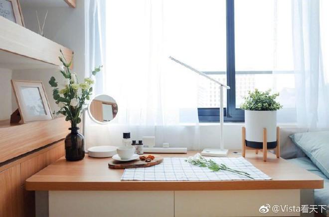 Màn cải tạo ký túc xá đỉnh cao từ ổ chuột thành phòng khách sạn với phong cách tối giản tuyệt đối - Ảnh 4.