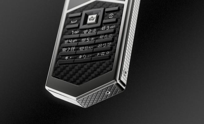 Chiêm ngưỡng Nokia 6500 độ lại khung carbon, ốp lưng da cá sấu, bàn phím titan, giá 60 triệu - Ảnh 6.