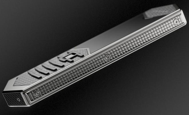 Chiêm ngưỡng Nokia 6500 độ lại khung carbon, ốp lưng da cá sấu, bàn phím titan, giá 60 triệu - Ảnh 5.