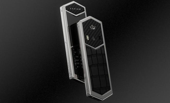 Chiêm ngưỡng Nokia 6500 độ lại khung carbon, ốp lưng da cá sấu, bàn phím titan, giá 60 triệu - Ảnh 2.