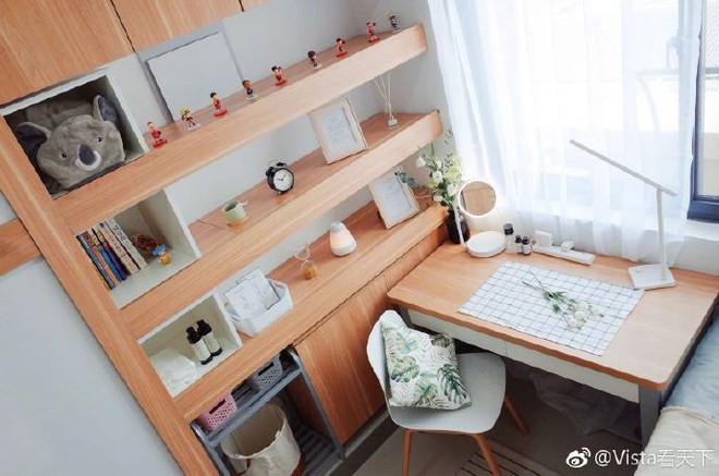 Màn cải tạo ký túc xá đỉnh cao từ ổ chuột thành phòng khách sạn với phong cách tối giản tuyệt đối - Ảnh 8.