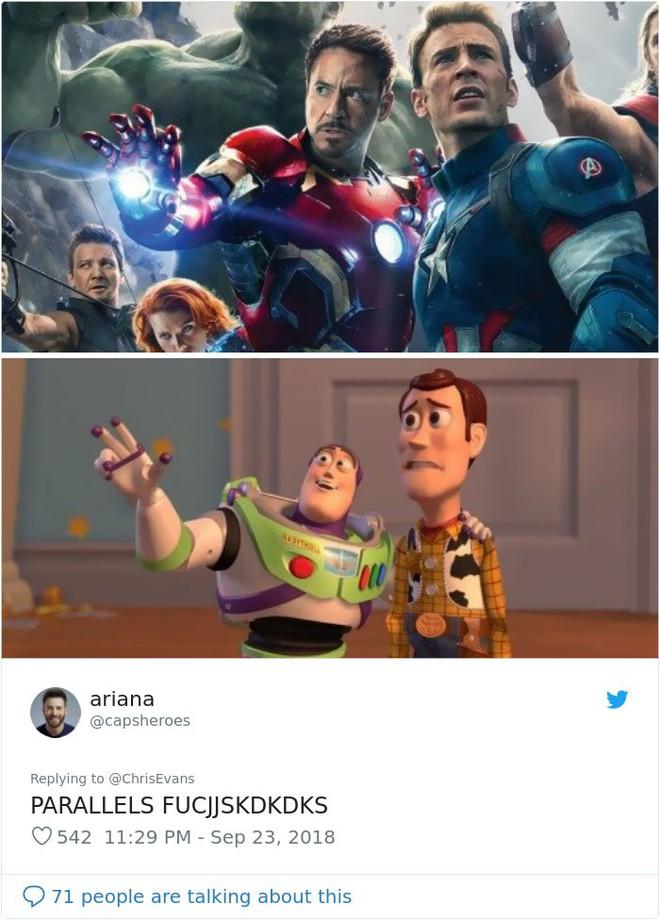 Cư dân mạng đổ xô đi tìm sự tương đồng giữa Captain America, Iron Man với công chúa, hoàng tử Disney - Ảnh 3.