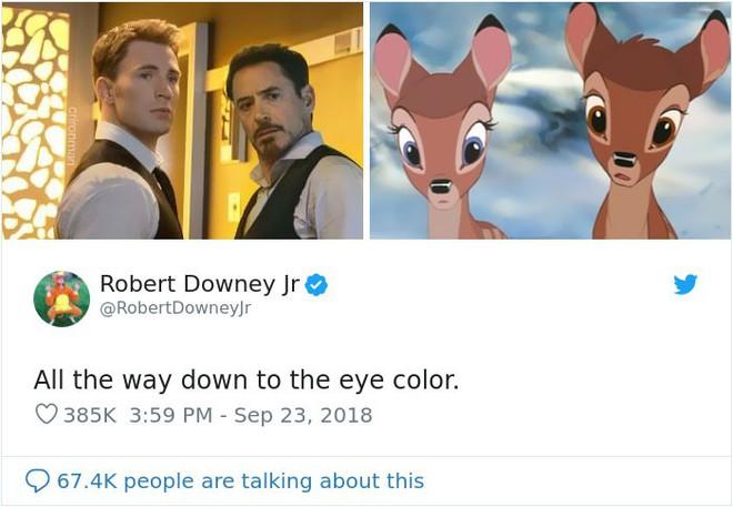 Cư dân mạng đổ xô đi tìm sự tương đồng giữa Captain America, Iron Man với công chúa, hoàng tử Disney - Ảnh 4.