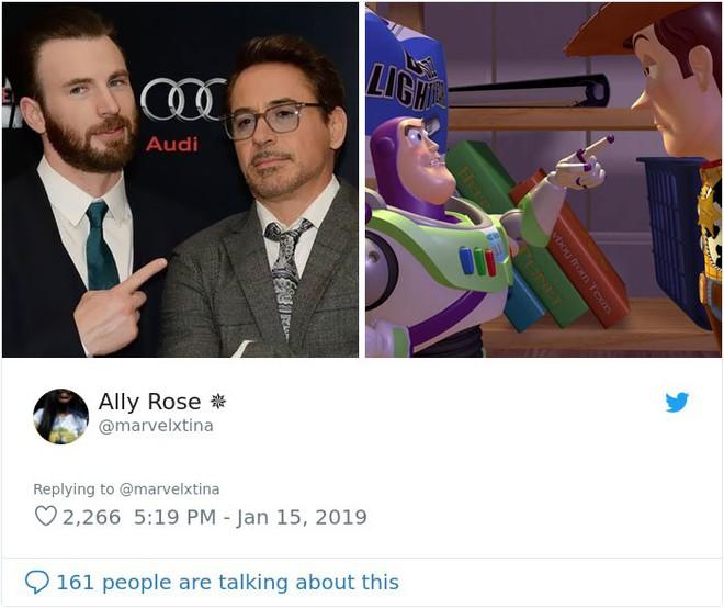Cư dân mạng đổ xô đi tìm sự tương đồng giữa Captain America, Iron Man với công chúa, hoàng tử Disney - Ảnh 8.