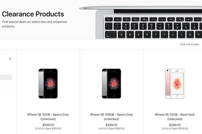 Apple xả kho iPhone SE với giá thấp hơn 100 USD cho bản 32GB và thấp hơn 150 USD cho bản 128GB - Ảnh 2.