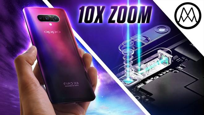 Oppo Find X2 sẽ ra mắt với zoom quang 10x, loại bỏ thiết kế trượt, màn hình đục lỗ, sạc siêu nhanh SuperVOOC - Ảnh 2.