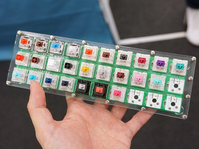 Khám phá cửa tiệm được coi là thiên đường cho dân ghiền phím cơ DIY Nhật Bản - Ảnh 10.