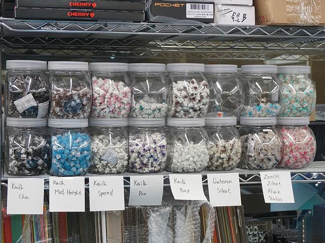 Khám phá cửa tiệm được coi là thiên đường cho dân ghiền phím cơ DIY Nhật Bản - Ảnh 12.