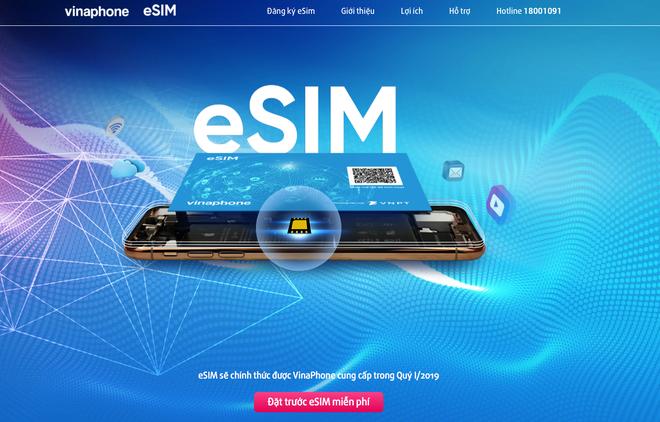 VinaPhone bắt đầu cho đổi eSIM: Hỗ trợ iPhone đời mới, hoàn toàn miễn phí - Ảnh 1.