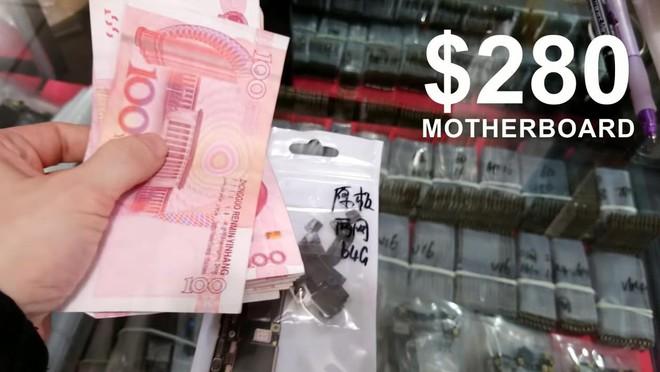 Anh chàng YouTuber tự chế một chiếc iPhone X từ linh kiện Trung Quốc mua ngoài chợ, chi phí chỉ 500 USD - Ảnh 3.