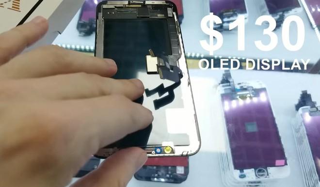 Anh chàng YouTuber tự chế một chiếc iPhone X từ linh kiện Trung Quốc mua ngoài chợ, chi phí chỉ 500 USD - Ảnh 6.