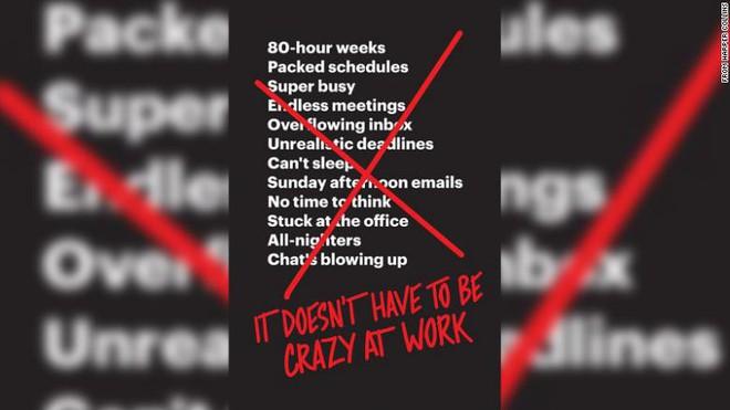 Vị CEO này kịch liệt phản đối thói tham công tiếc việc và khẳng định: Bị điên mới làm việc hơn 40h/tuần - Ảnh 2.