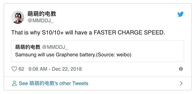 Tính năng mới hấp dẫn nhất trên Galaxy S10 sẽ là công nghệ pin chưa smartphone nào từng sở hữu - Ảnh 1.