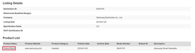 Samsung sẽ ra mắt tai nghe Galaxy Buds cùng Galaxy S10 nhằm cạnh tranh với AirPods của Apple - Ảnh 2.