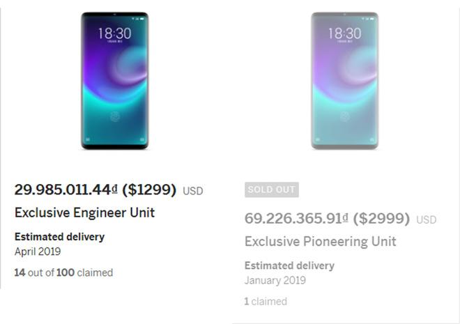 Smartphone không lỗ Meizu Zero được ấn định giá bán 1299 USD - Ảnh 2.