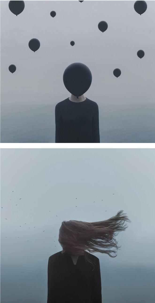 Nhìn cuộc đời qua con mắt của người trầm cảm với bộ ảnh siêu thực từ nghệ sĩ Gabriel Isak - Ảnh 10.