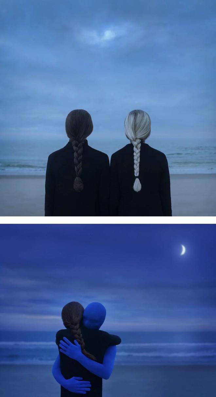 Nhìn cuộc đời qua con mắt của người trầm cảm với bộ ảnh siêu thực từ nghệ sĩ Gabriel Isak - Ảnh 2.