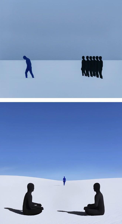 Nhìn cuộc đời qua con mắt của người trầm cảm với bộ ảnh siêu thực từ nghệ sĩ Gabriel Isak - Ảnh 6.