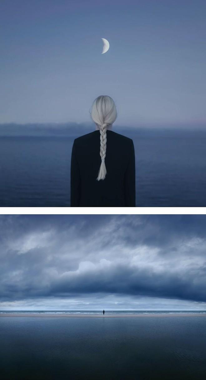 Nhìn cuộc đời qua con mắt của người trầm cảm với bộ ảnh siêu thực từ nghệ sĩ Gabriel Isak - Ảnh 8.