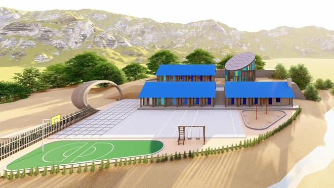 Ngôi trường mới và 1000 đèn năng lượng mặt trời thắp sáng hi vọng tương lai cho trẻ em vùng cao Tri Lễ - Ảnh 2.