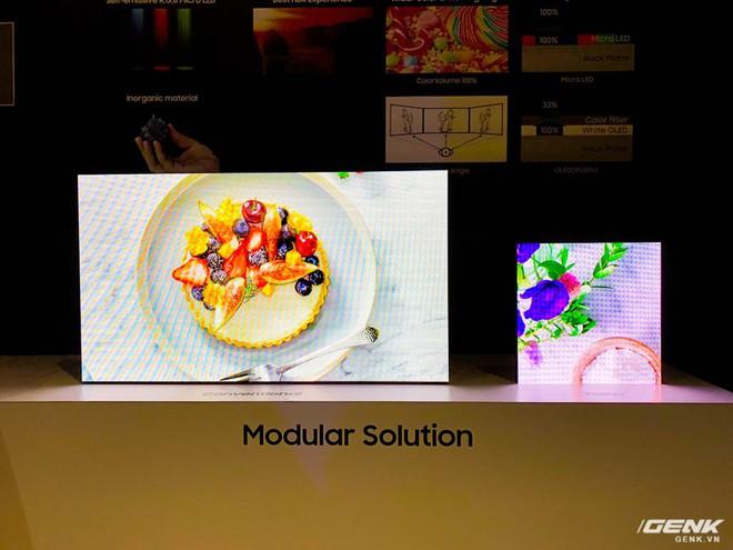 [CES 2019] Samsung giới thiệu màn hình công nghệ Micro LED thế hệ thứ hai kích cỡ siêu khủng lên tới 219 inch - Ảnh 4.