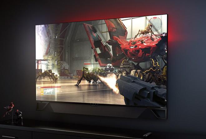 [CES 2019] HP ra mắt màn hình chơi game Omen X Emperium 65 to hơn cả một chiếc TV, giá 5.000 USD - Ảnh 1.