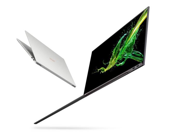 [CES 2019] Acer ra mắt Swift 7 (2019): Mỏng chưa đến 1cm, tỷ lệ màn hình 92%, chip Intel Core i7-8500Y, giá từ 1.699 USD - Ảnh 1.