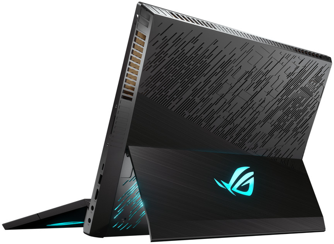[CES 2019] ASUS trình làng ROG Mothership laptop chơi game 2-trong-1 với thiết kế giống hệt Surface Pro - Ảnh 1.