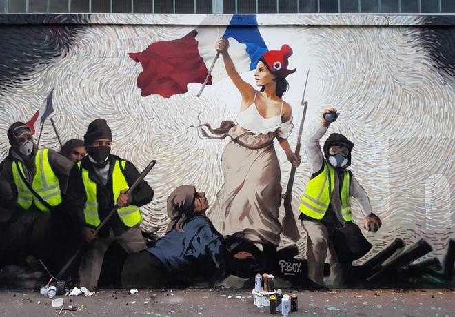 Bức tranh đường phố của Pháp này ẩn giấu số Bitcoin trị giá...1.000 USD - Ảnh 1.