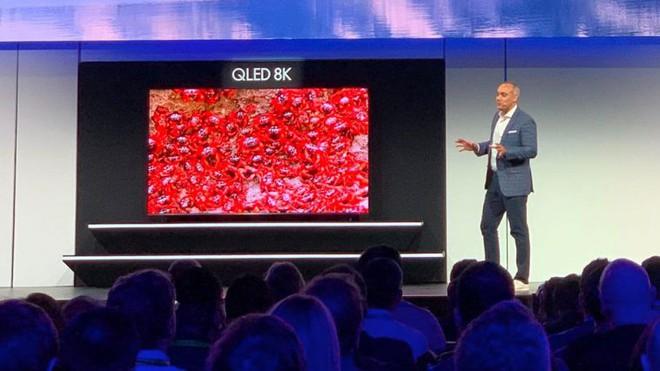 [CES 2019] Samsung ra mắt TV QLED 8K lớn nhất thế giới hiện nay, có thể nâng cấp mọi nội dung và xem Netflix với độ phân giải 8K - Ảnh 2.