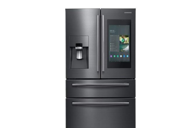 [CES 2019] Nếu quên đóng cửa, tủ lạnh thông minh mới của Samsung sẽ nhắc bạn qua smartphone - Ảnh 1.