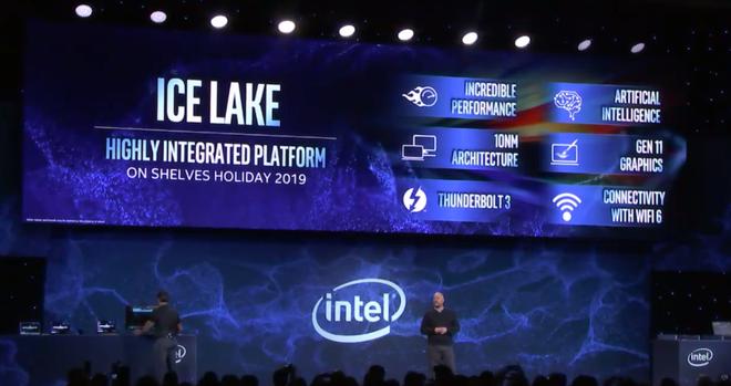 [CES 2019] Sau khi AMD giới thiệu chip 12nm, Intel ngay lập tức ra mắt chip xử lý 10nm Ice Lake - Ảnh 1.